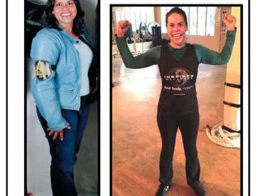 Lost over 40lbs and got her life back!