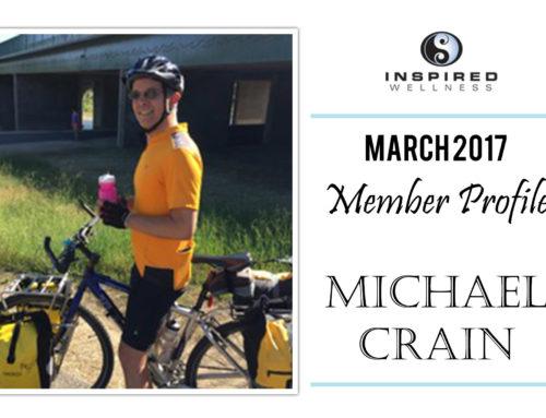 March 2017 Member Profile: Michael Crain!