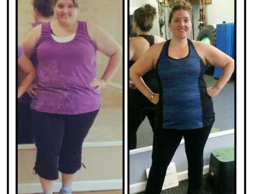 Down 100 pounds and feeling AH-mazing!