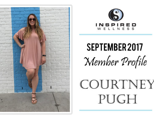 September 2017 Member Profile: Courtney Pugh!