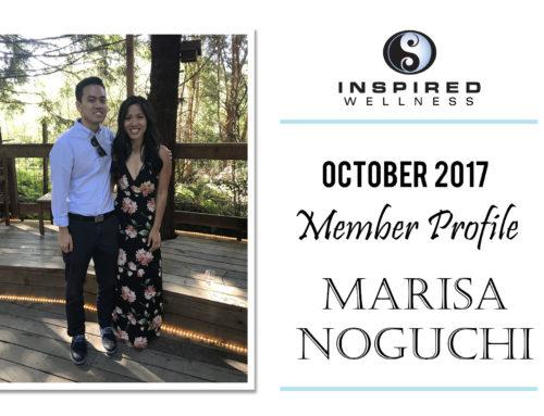 October 2017 Member Profile: Marisa Noguchi!