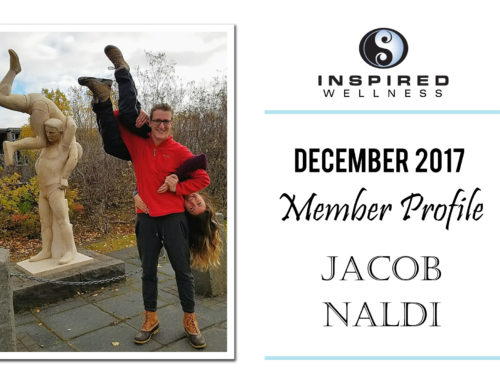December 2017 Member Profile: Jacob Naldi!
