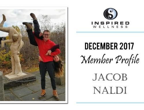 December 2017 Member Profile: Jacob Naldi!